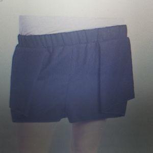 BCBGENERATION Cascade Shorts New Black Medium New